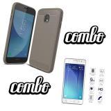 Mua Combo Ốp Lưng Chống Sốc Kinh Cường Lực Samsung Galaxy J7 Pro Xam Hà Nội