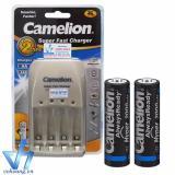 Bán Combo Pin Sạc Cao Cấp Camelion Bc0905A 2Pin Aa Hyperpro Nhập Khẩu