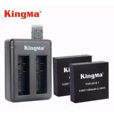 Combo Sạc Đoi 2 Pin Kingma Cho Xiaomi Yi 4K Rẻ