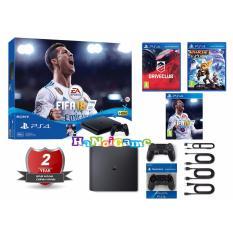 Giá Bán Combo Sony Playstation 4 Ps4 Slim 500Gb Fifa 18 Bundle Hang Sony Vn Kem 2 Tay Cầm Va 3 Đĩa Game Bh 2 Năm Nguyên