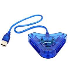 Cổng chuyển Tay PS2 Chơi Trên PC (Xanh dương) - Hàng nhập khẩu
