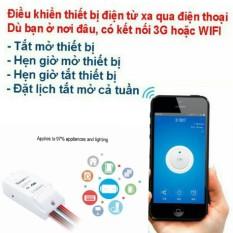 Ôn Tập Cong Tắc Điều Khiển 2 Kenh Bật Tắt Va Hẹn Giờ Thiết Bị Qua Ứng Dụng Điện Thoại 3G Wifi Sonoff Dual