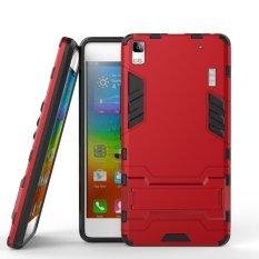 Ôn Tập Thoang Mat Bảo Vệ Nhựa Nhựa Tpu Chan Đế Danh Cho Lenovo A7000 A7000 Plus K3 Note Đỏ