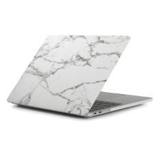 Hình ảnh Coosybo-phiên bản Mới (ra mắt), đá cẩm thạch Cứng Bọc Cao Su Bảo Vệ dành cho Mac Macbook 13.3 inch, Trắng/Đen-quốc tế