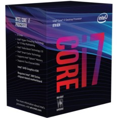 Hình ảnh CPU Intel Core i7 8700 3.2Ghz Turbo Up to 4.6Ghz / 12MB / 6 Cores, 12 Threads / Socket 1151 v2 (Coffee Lake )