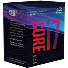 Hình ảnh CPU Intel Core i7 8700K 3.7 Ghz Cache 12MB Socket 1151v2