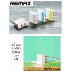 Cửa Hàng Củ Sạc Điện Thoại Remax 5 Cổng Usb Cao Cấp Hang Nhập Khẩu Trong Hà Nội
