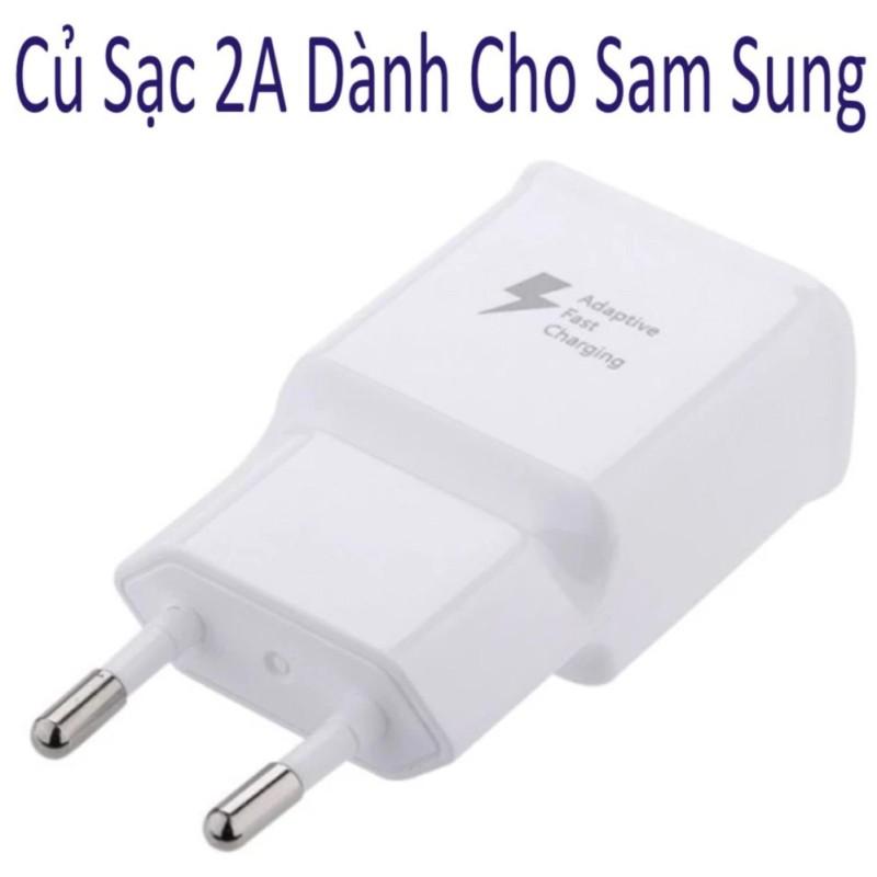 Giá Củ sạc Nhanh 2A Dành  cho điện thoại Samsung 5,3V-2A Hàng Chất Lượng Loại 1 ( Bảo Hành 3 Tháng )