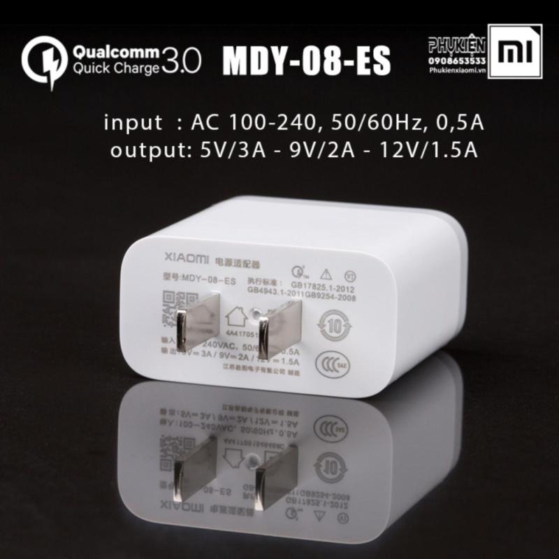 Giá Củ sạc nhanh Quick Charge 3.0 Xiaomi MDY-08-ES theo máy Mi6 - hàng nhập khẩu