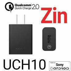 Bán Củ Sạc Nhanh Zin Uch10 Quick Charger Cho Sony Z3 Z4 Z5 Mới