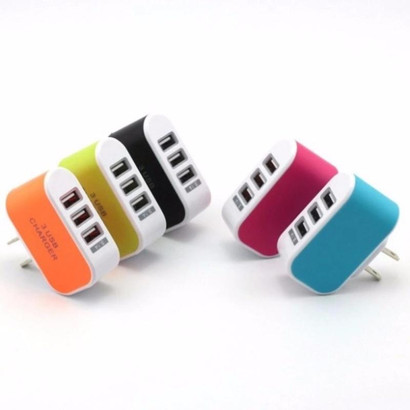 Cục sạc điện thoại đa năng 3 cổng USB