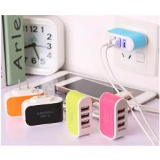 Hình ảnh Cục sạc điện thoại đa năng tiện lợi 3 cổng USB 3.1A.