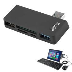 Hình ảnh Cwxuan Tốc Độ Cao USB 3.0, SD Card Đọc Thẻ TF cho Surface Pro 3/4-quốc tế