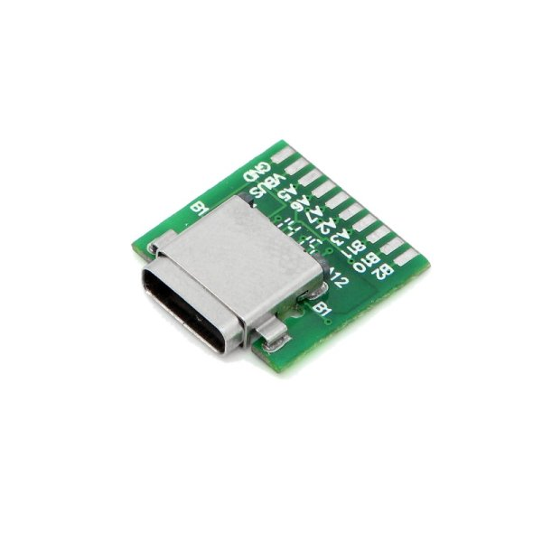 Giá CY U3-206 SMT Type 24Pin USB 3.1 Type C Female Connector w/ PC Board