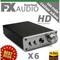Giá Bán Bộ Giải Ma Am Thanh Chất Lượng Cao Dac Fx Audio X6 New 2018 Tặng Day Optical 1 5M Con Hang Fx Audio