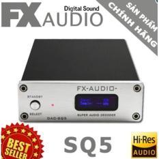 Dac Giải Ma Cao Cấp Fx Audio Sq5 Akm Pcm 192Khz 24Bit Fullbox Chất Lượng Cao Tặng Day Optical 1 5M Con Hang Rẻ
