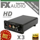 Giá Bán Dac Giải Ma Fx Audio X3 Chất Lượng Cao Tặng 02 Day Quang Optical Rca Cao Cấp 199K Trong Hà Nội