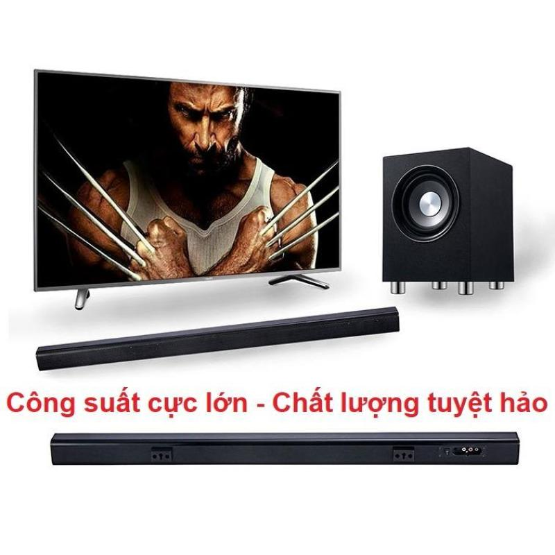 Dàn âm thanh tại gia gồm Soundbar Tivi TVS- A3 + Loa Sub Subwoofer S1 với công suất mạnh mẽ cho chất lượng âm thanh như trong rạp chiếu phim