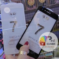 Ôn Tập Trên Dan Cường Lực 4D Iphone 7 Plus Full Man Hinh White