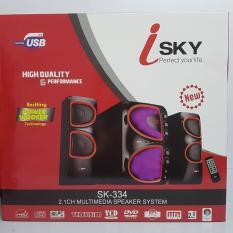 Dàn loa Loa vi tính 2.1 có karaoke - Bluetooth I-SKY SK 334