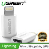 Giá Bán Đầu Chuyển Đổi Micro Usb Sang Lightning Co Chứng Chỉ Mfi Ugreen Us164 20745 Hang Phan Phối Chinh Thức Tốt Nhất