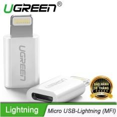 Bán Đầu Chuyển Đổi Micro Usb Sang Lightning Co Chứng Chỉ Mfi Ugreen Us164 20745 Hang Phan Phối Chinh Thức Có Thương Hiệu Rẻ
