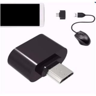Đầu chuyển Micro USB OTG cho máy tính bảng và smart phone (đen) - Hàng nhập khẩu thumbnail