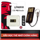 Đầu Đọc Thẻ Kingston USB microSD/SDHC/SDXC FCR-MRG2
