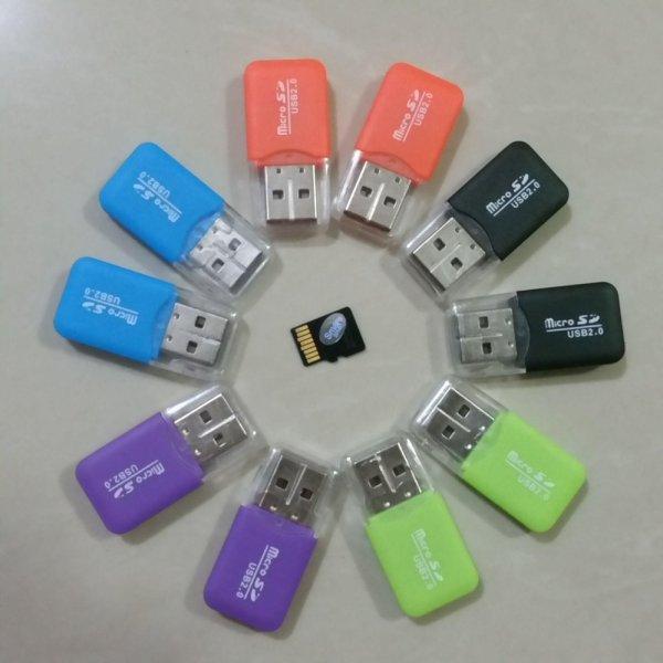 Bộ 2 Đầu đọc thẻ nhớ MicroSD