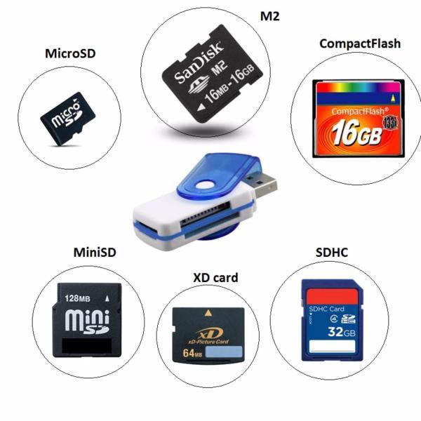 Bảng giá Đầu đọc thẻ nhớ Mini All-in-one Card reader (Nhiều màu) 1000000513 Phong Vũ