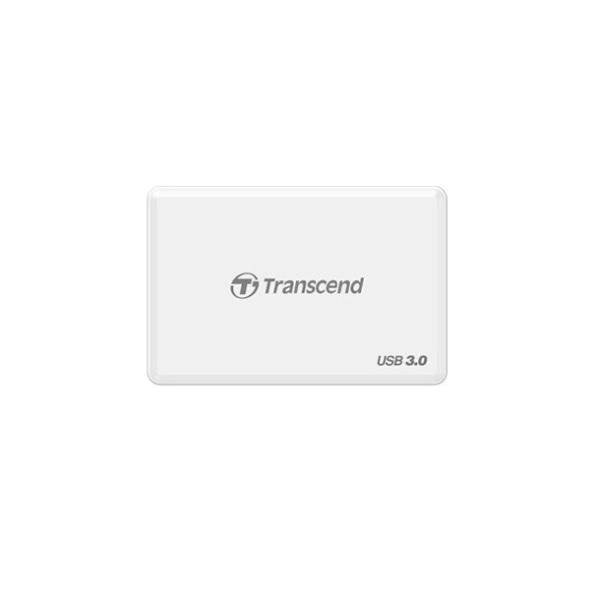 Đầu đọc thẻ nhớ Transcend RDF8K USB3.0 (Trắng)
