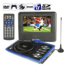Hình ảnh Đầu DVD Hongkong electronics Portable EVD 788 7.8inch (Xanh)