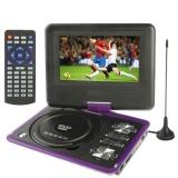 Đầu DVD Hongkong electronics Portable EVD 789 7.8inch (Tím)