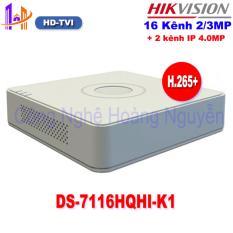 Đầu ghi Camera HD Hikvision 16 kênh DS-7116HQHI-K1 chuẩn H.265+