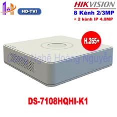 [BẢO HÀNH 2 NĂM] Đầu ghi Camera HD Hikvision 8 kênh DS-7108HQHI-K1 chuẩn H.265+ - Công Nghệ Hoàng Nguyễn