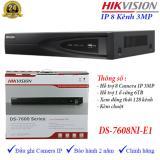 Ôn Tập Đầu Ghi Hinh Camera Ip 8 Kenh Hikvision Ds 7608Ni E1 Hikvision