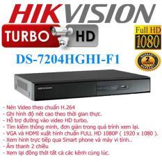 Mua Đầu Ghi Hinh Hikvision Ds 7204Hghi F1 Hikvision Trực Tuyến