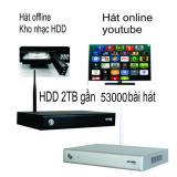 Giá Bán Đầu Karaoke Wifi Online Offline Hdd 2Tb Android Acnos Km6 Trong Hồ Chí Minh