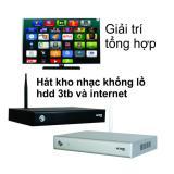 Bán Mua Đầu Karaoke Wifi Online Offline Hdd 3 Tb Android Acnos Km6