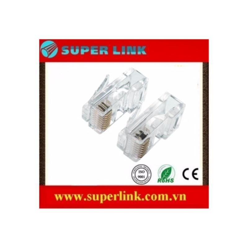 Bảng giá Đầu mạng Cat 6e Super link bịch 100 cái Phong Vũ