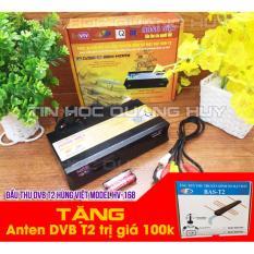 Bán Đầu Thu Dvb T2 Hung Việt Hv 168 Tặng Anten Dvb T2 Trị Gia 100K Trong Vietnam