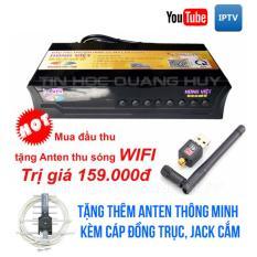 Bán Đầu Thu Dvb T2 Hung Việt Hv 168 Tặng Anten Thu Song Wifi Va Anten Thong Minh Rẻ
