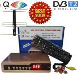 Giá Bán Đầu Thu Kỹ Thuật Số Set Top Box Dvb T2 Hp 1115 Kem Bộ Anten Co Mạch Khuếch Đại Va Jack Nối Nguyên