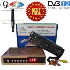 Giá Bán Đầu Thu Kỹ Thuật Số Set Top Box Dvb T2 Hp 1115 Kem Bộ Anten Co Mạch Khuếch Đại Va Jack Nối Mới Rẻ