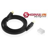 Dây cáp HDMI 1.5M dẹt FULL HD (Đen)