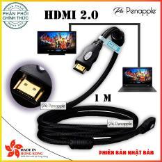 Giá Bán Day Cap Hdmi Cable 2 Ultra Hd 4K Full Hd 1080P 3D Cao Cấp Phong Cach Nhật Bản Japan 1 Met Hang Phan Phối Chinh Thức Mới