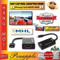 Mã Khuyến Mại Day Cap Mhl Adapter Hdmi Micro Usb Để Chiếu Từ Điện Thoại Android Len Tv Hdmi Sản Xuất Tại Hồng Kong Hang Phan Phối Chinh Thức