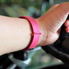 Mua Day Đeo Thay Thế Cho Samsung Gear Fit 2 Dạng Khoa Bấm Nau Đỏ Trực Tuyến Rẻ