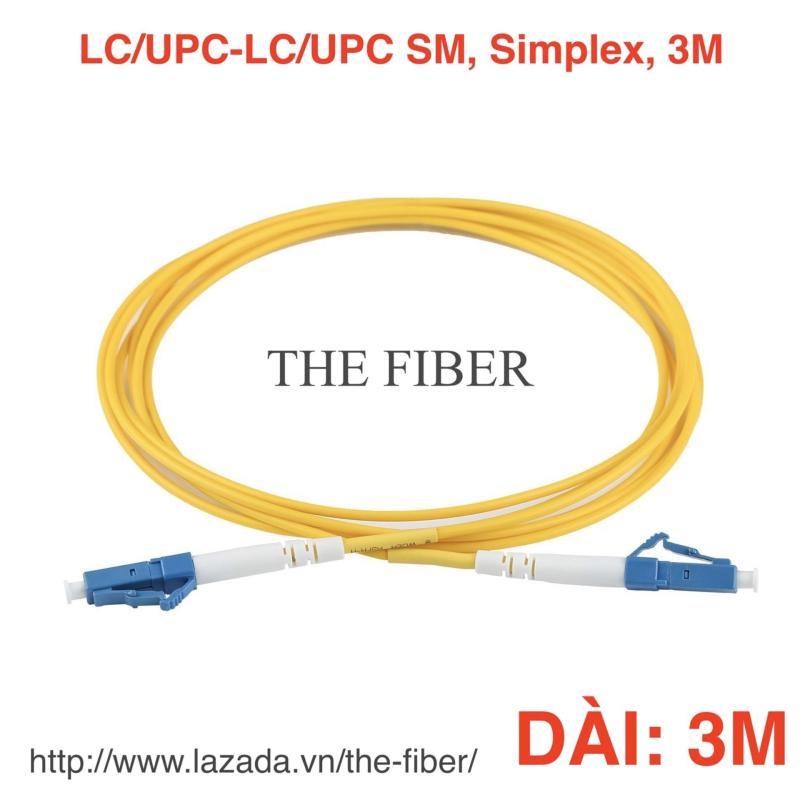 Bảng giá Dây nhảy quang SM LC/UPC-LC/UPC dài 3/5/10m, phi 3.0mm, Simplex Phong Vũ