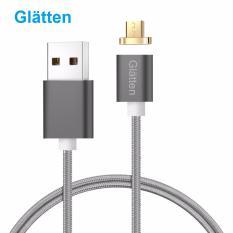 Dây sạc từ tính hít nam châm Glatten - hỗ trợ 1 cổng microUSB cho các máy Android (Nhiều màu)